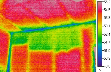 Infrared Scanning of Missing Insulation